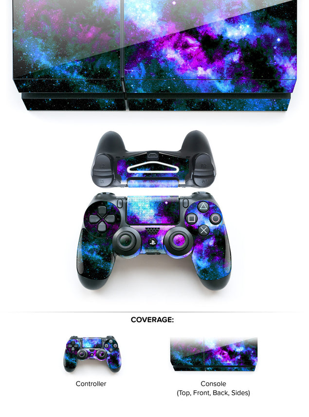 Bluedust PS4 Skin at Keyshorts.com