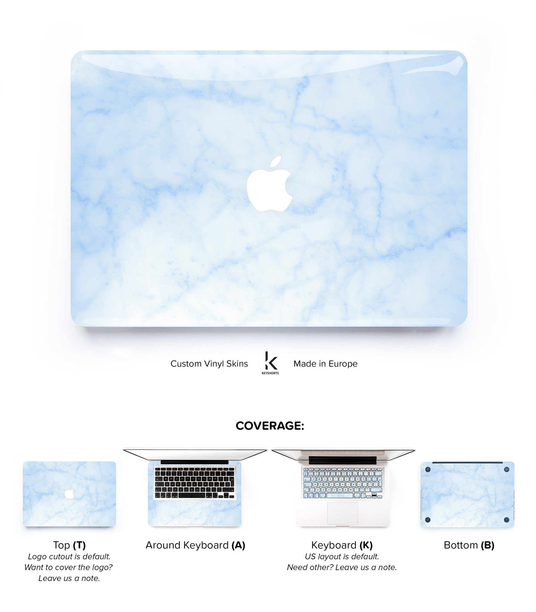 finest selection 082ea 4998b Blue Marble MacBook Skin