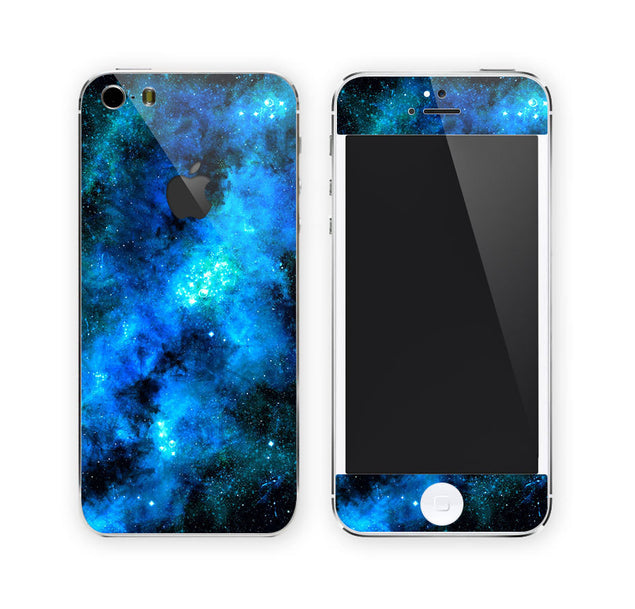 Blue Nebula iPhone Skin at Keyshorts.com - 1