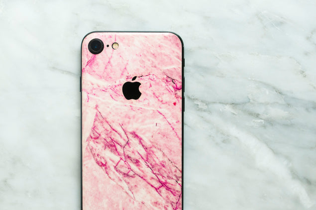 Blush Marble iPhone Skin