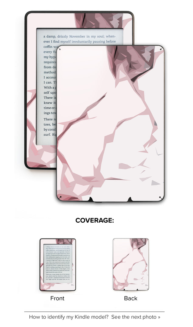 Blush Moment Kindle Skin
