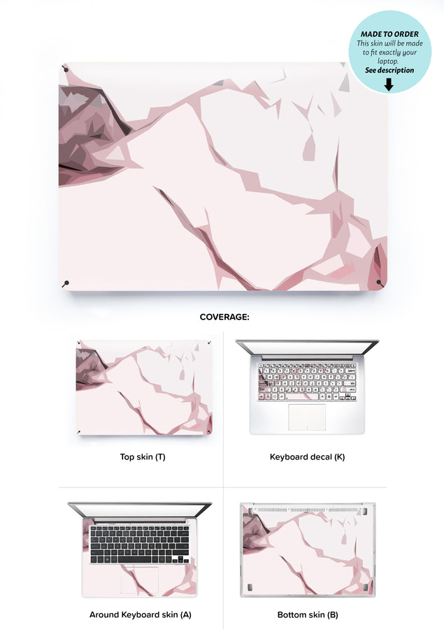 Blush Moment Laptop Skin