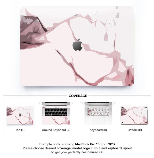 Blush Moment MacBook Skin