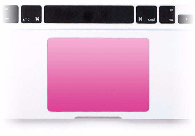 Blush Ombre MacBook Trackpad Sticker at Keyshorts.com
