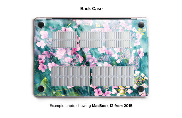Botanica Punk Hard Case for MacBook 12 - back/bottom case