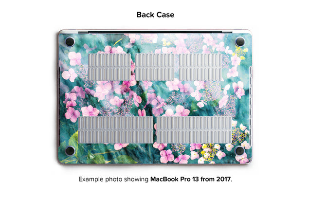 Botanica Punk Hard Case for MacBook Pro 13 without TouchBar - back/bottom case