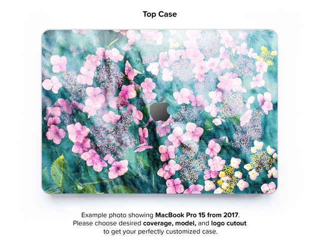 Botanica Punk Hard Case for MacBook Pro 15 with TouchBar - top case