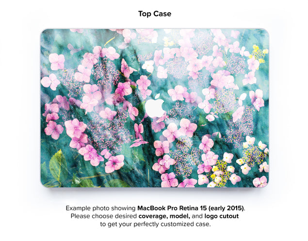 Botanica Punk Hard Case for MacBook Pro Retina 15 - top case