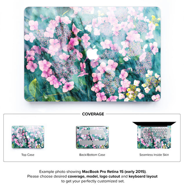 Botanica Punk Hard Case for MacBook Pro Retina 15