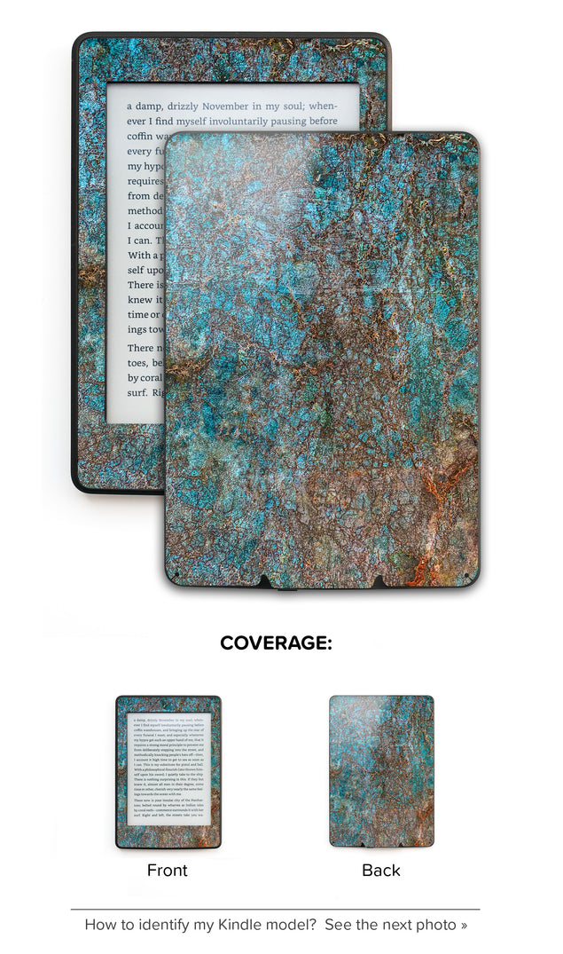 Brass ash Kindle Skin