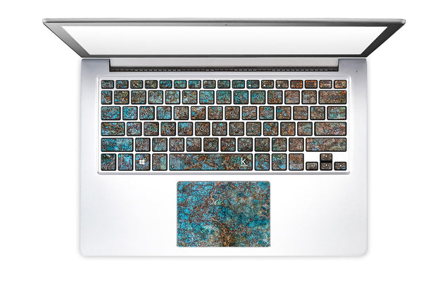 Brass ash Laptop Keyboard Stickers