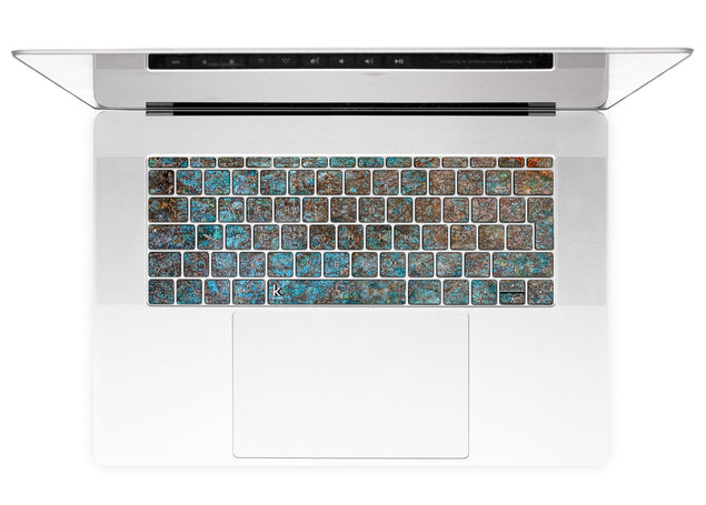 Brass ash MacBook Keyboard Stickers alternate