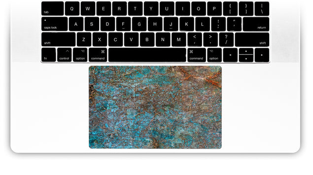 Brass ash MacBook Trackpad Sticker