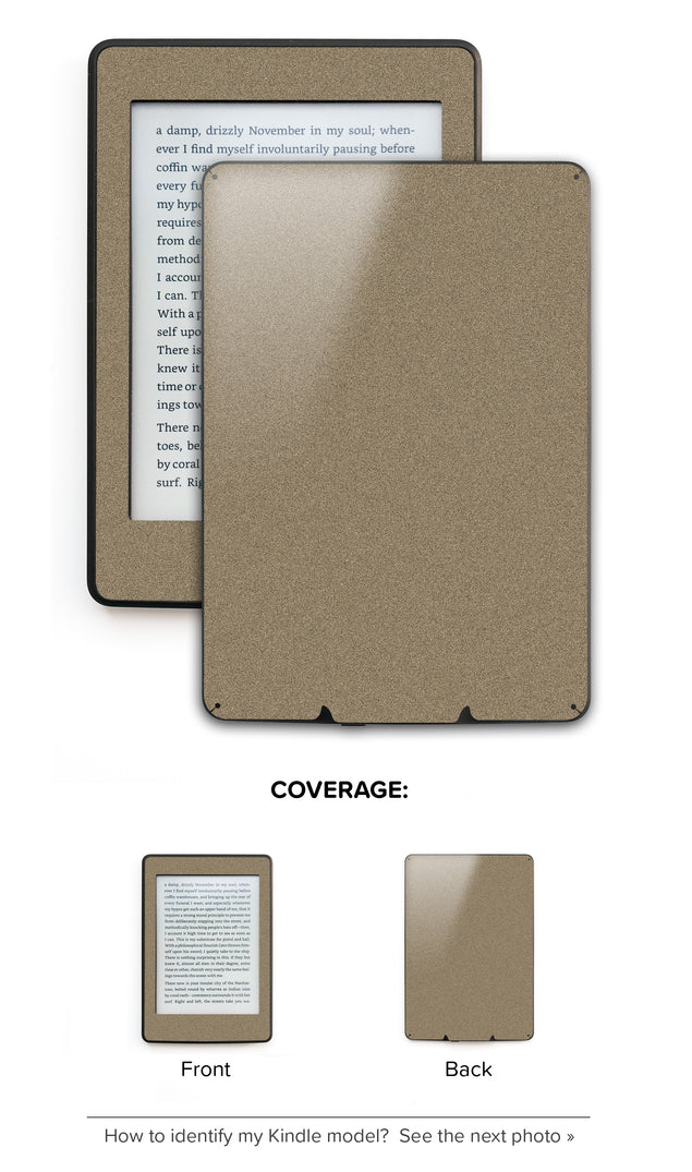 Brown Paper Bag Kindle Skin