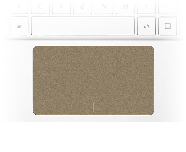 Brown Paper Bag Laptop Trackpad Sticker