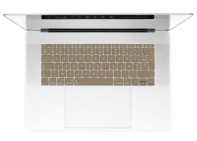 Brown Paper Bag MacBook Keyboard Stickers alternate