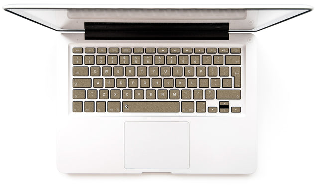 Brown Paper Bag MacBook Keyboard Stickers