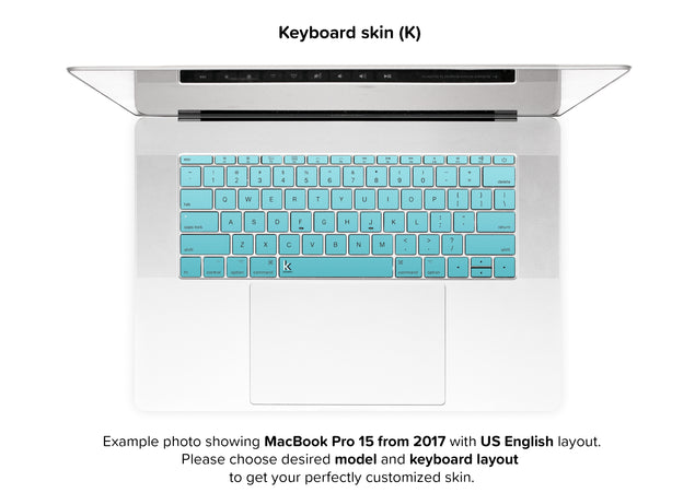 California Ride MacBook Skin - keyboard stickers