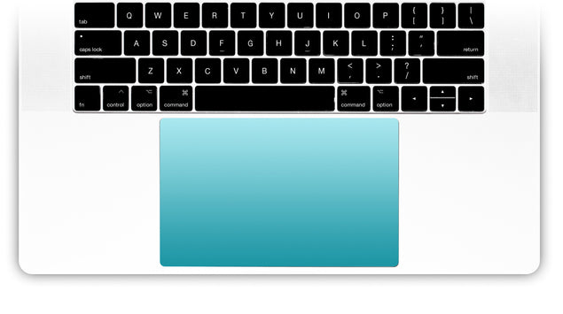 California Ride MacBook Trackpad Sticker
