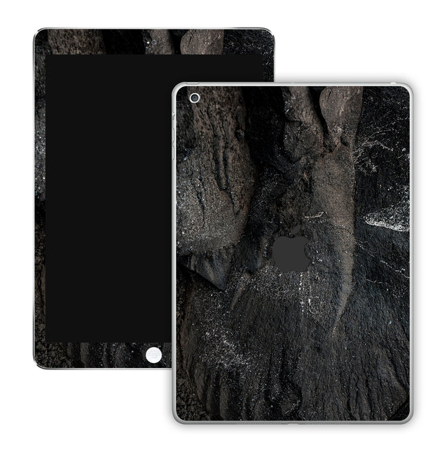 Carbon Black iPad Skin