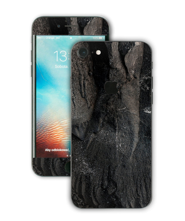 Carbon Black iPhone Skin