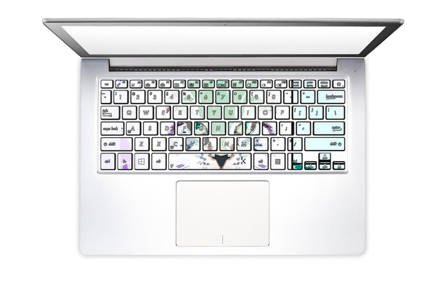 Cathaus Laptop Keyboard Stickers