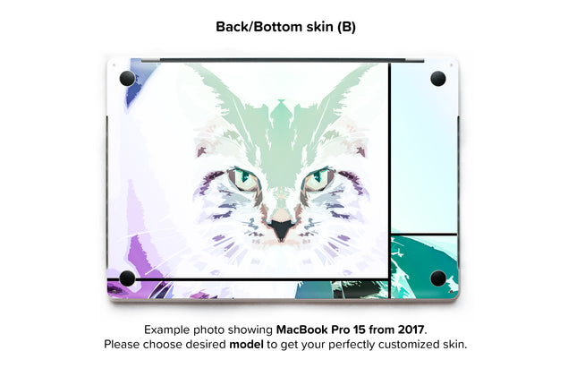 Cathaus MacBook Skin - back skin