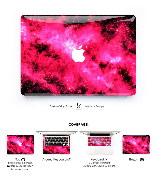 Cat's Dream MacBook Skin at Keyshorts.com