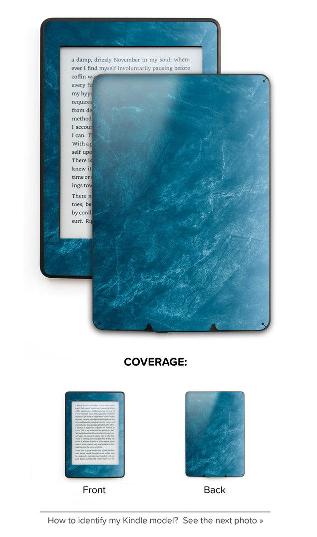 Cloudy Marble Kindle Skin