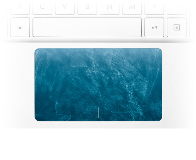 Cloudy Marble Laptop Trackpad Sticker