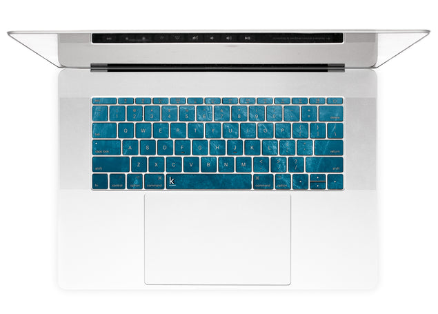 Cloudy Marble MacBook Keyboard Stickers alternate