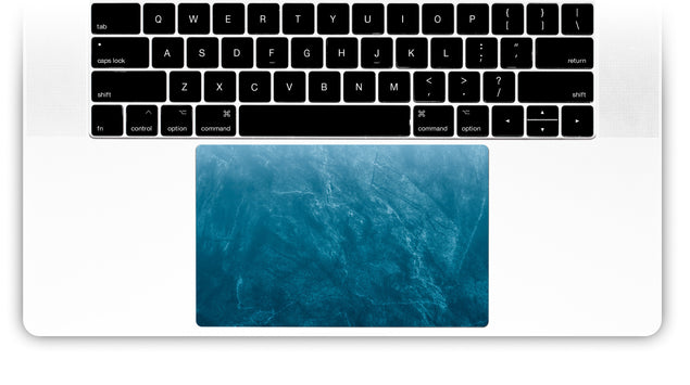 Cloudy Marble MacBook Trackpad Sticker
