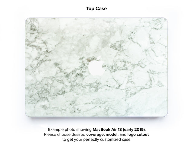 Cobra Marble Hard Case for MacBook Air 13 - top case