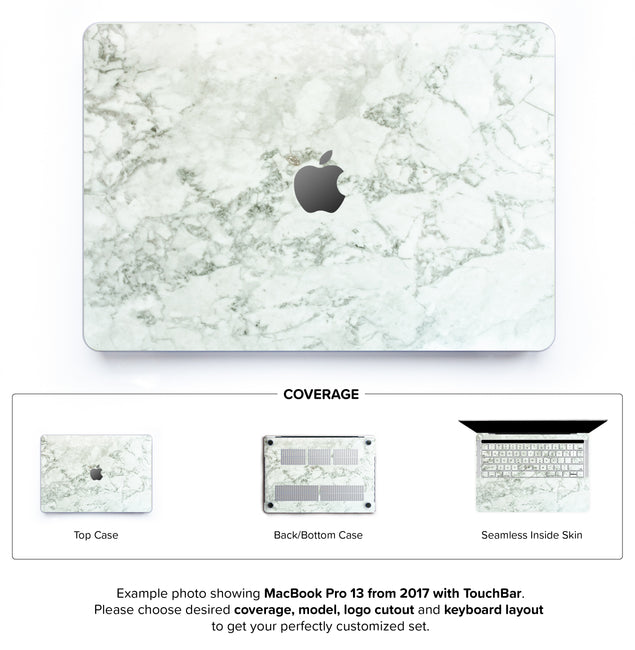 Cobra Marble Hard Case for MacBook Pro 13 with TouchBar
