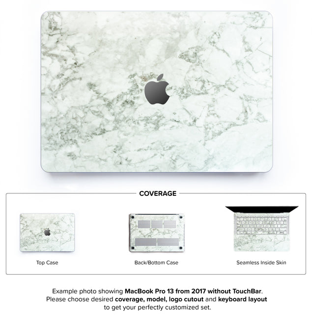 Cobra Marble Hard Case for MacBook Pro 13 without TouchBar