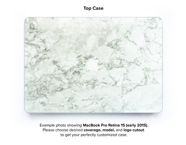 Cobra Marble Hard Case for MacBook Pro Retina 15 - top case