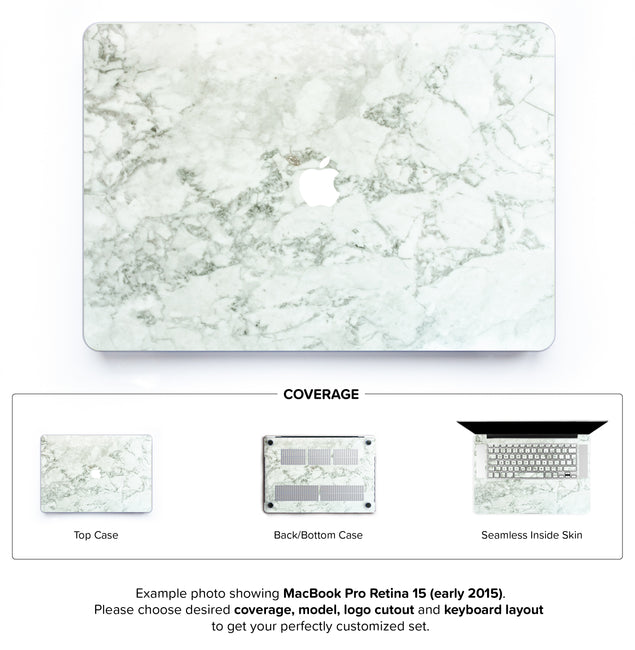 Cobra Marble Hard Case for MacBook Pro Retina 15