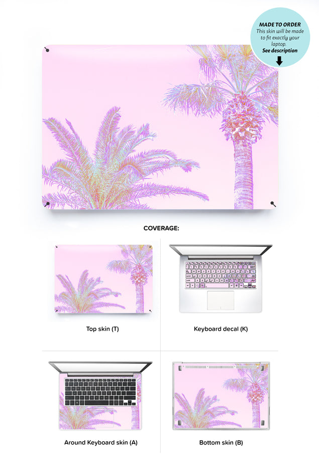 Coco Rose Laptop Skin