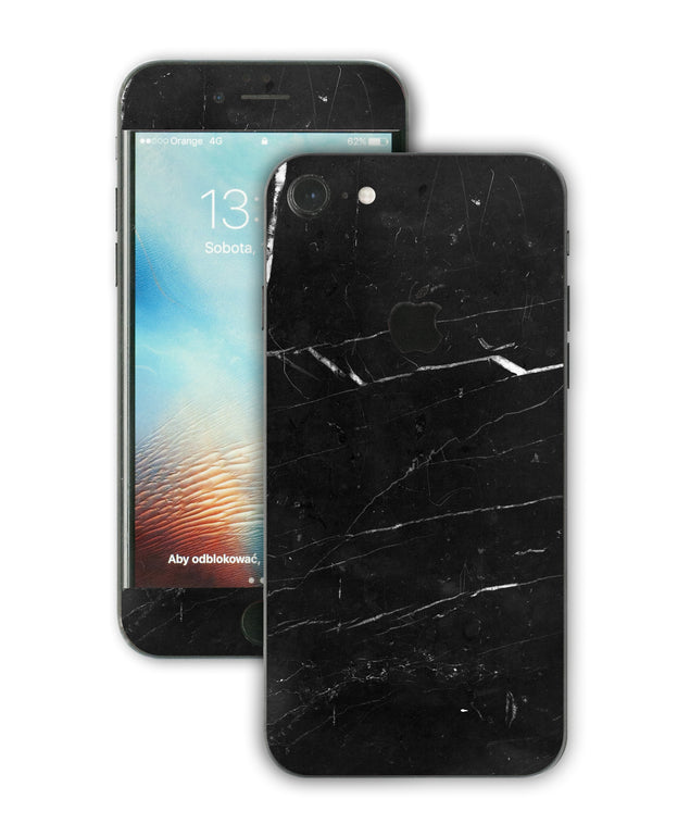 Coffee Marble iPhone Skin