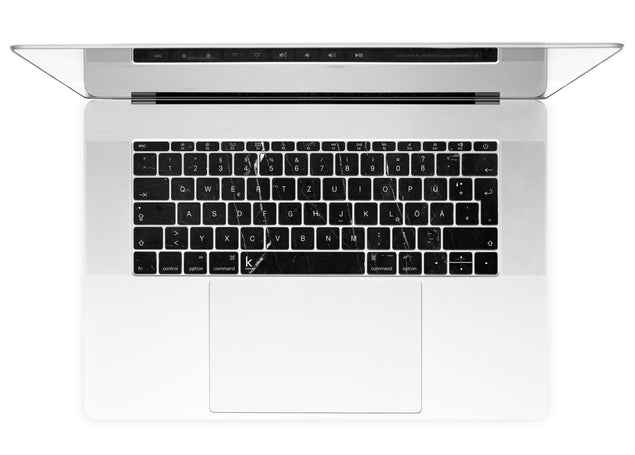 Coffee Marble MacBook Keyboard Stickers alternate
