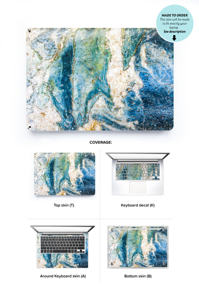 Colosseum Marble Laptop Skin