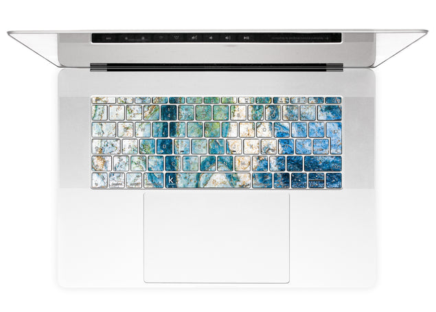 Colosseum Marble MacBook Keyboard Stickers alternate