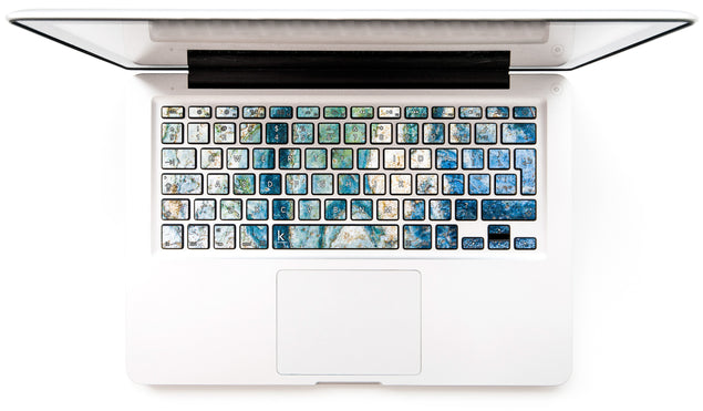 Colosseum Marble MacBook Keyboard Stickers