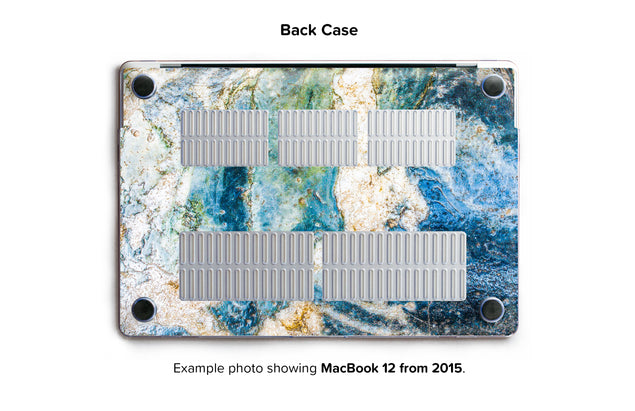 Colosseum Marble Hard Case for MacBook 12 - back/bottom case