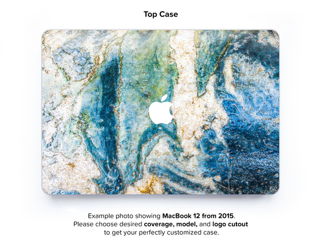 Colosseum Marble Hard Case for MacBook 12 - top case