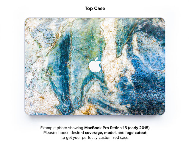 Colosseum Marble Hard Case for MacBook Pro Retina 15 - top case