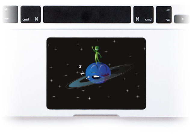 Comic Book MacBook Trackpad Sticker