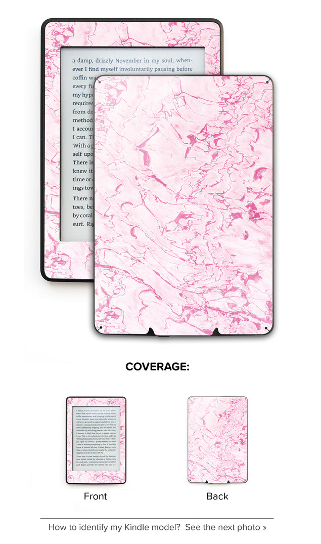 Complicated Pink Kindle Skin