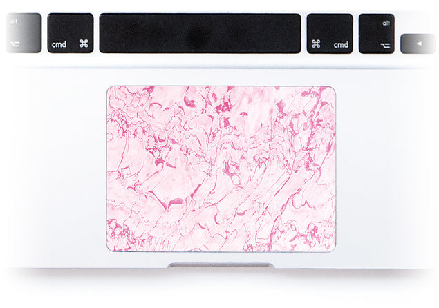 Complicated Pink MacBook Trackpad Sticker alternate