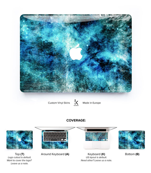 Concrete Rockstar MacBook Skin
